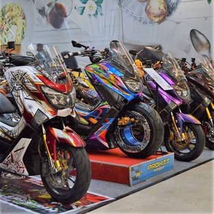 Indonesia Dress-Up and Build Motorbike Expo (MOTOR-EX) 2021 Goncang Surabaya