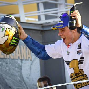 Joan Mir Sukses Kunci Gelar Juara Dunia MotoGP 2020 di MotoGP Valencia
