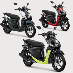 Yamaha X-Ride 125 Kini Tampil Sporty dan Agresif Lewat Tiga Warna Baru