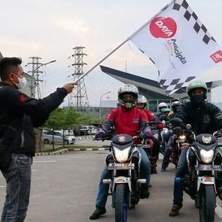 Kopdar Laki Komunitas Honda CB150R Digelar DAM Sebagai Ajang Silaturahmi