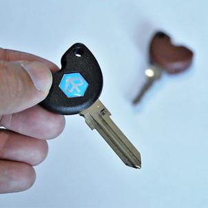 Cara Membuat Kunci Duplikat Piaggio atau Vespa