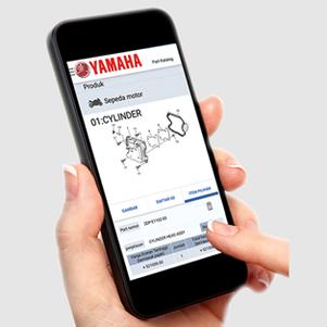 Lewat Aplikasi YPEC IDN, Cari Informasi Suku Cadang Asli Yamaha Jadi Mudah