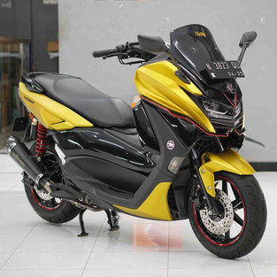 All New NMAX 155 Jadi Makin Sporty dengan Bodykit LENT Automodified Ini