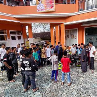 Brothersip X People Ride Team Lampung Berbagi Pengalaman Wirausaha dengan Panti Asuhan