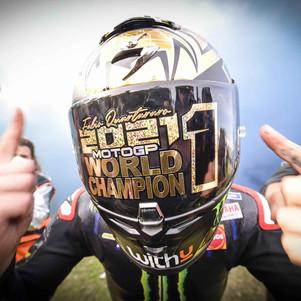 Fabio ELD1ABLO Quartararo Kunci Gelar Juara Dunia MotoGP 2021 di Misano