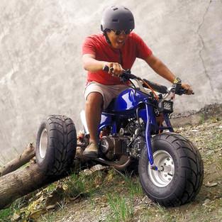 Mini Trike Asik Garapan WS Udek Oto Bengkel Spesialis Mini Bike Gresik