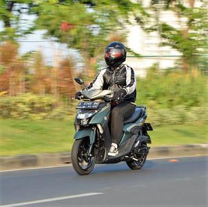 Tes Konsumsi BBM Yamaha Gear 125: Seliter Bisa Tempuh 61,259 Km!