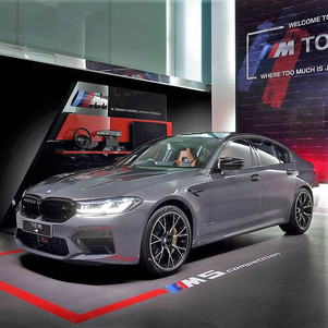 The New BMW M5 Competition: Business Sedan dengan Performa Sports Car