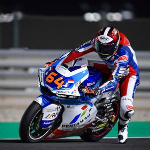 Debut Tim Pertamina Mandalika SAG di Seri Pertama Moto2 Qatar