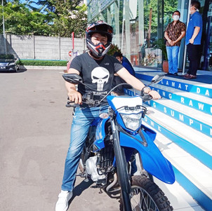 Hore, Unit Test Ride WR155R di Yamaha Flagship Shop Jakarta Sudah Ada