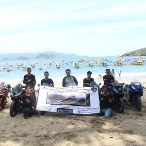 Komunitas Yamaha R15 V3 Indonesia (RVI) Chapter Surabaya Gelar Tourjib Season 5