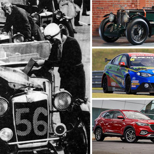 Rekam Jejak Kiprah 100 Tahun MG (Morris Garage) di Dunia Balap Internasional