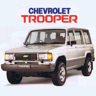 40th Anniversary Chevrolet Trooper: Kisah 20 Tahun Lebih Bersama Si Polisi Hutan