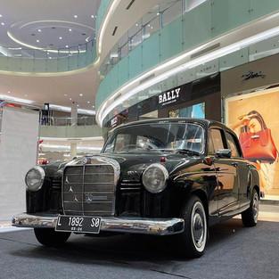 Restorasi Mercedes-Benz 180 W120 Alias Mercy Kentang