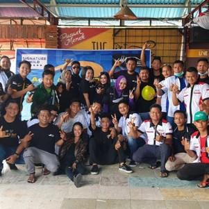 Komunitas Agya Ayla SoliDaritas (AASD) Chapter Padang Rayakan Ultah Kedua