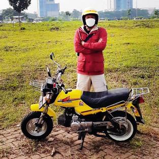 Honda Win Versi Mini Ini Hasil Kreasi Anggota Komunitas MONIKA Bekasi