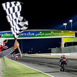 Quartararo Menangkan Seri 2 GP Doha, Setelah Sempat Turun ke Posisi 9 Selepas Start