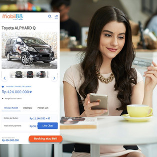 Pembaruan Fitur mobil88 e-store Dukung Kampanye Semua Bisa Punya Mobil
