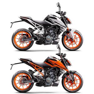KTM Indonesia Pastikan Memasarkan Duke 200 Terbaru Tahun Ini