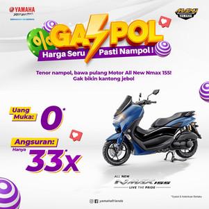 Bikin Geger, DP 0 Sudah Bisa Bawa Motor Yamaha All New NMax 155!