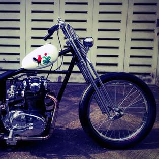 Yamaha XS 650 1979 di Jakarta Ini Dicustom Total Jadi Chopper Mie Ayam!