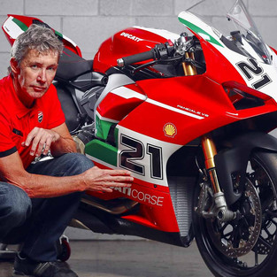 Troy Bayliss Bicara Soal The New Ducati Panigale V2 Bayliss 1st Champion 20th Anniversary Edition