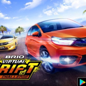 Wuih, HPM Gandeng Gameloft Bikin Mobile Game Brio Drift Challenge!
