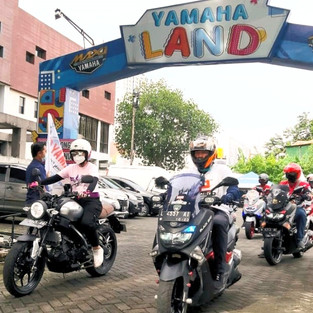 Alexis Ajak Rider Yamaha Rame-Rame Motokopi (Motoran, Fotografi dan Ngopi)!