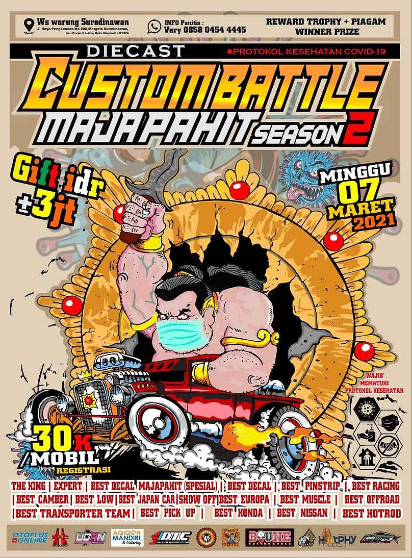 poster diecast custom battle season 2 20