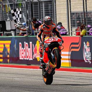 Cara Marc Marquez Menangkan GP Amerika 2021, Meniru Line Francesco Bagnaia!