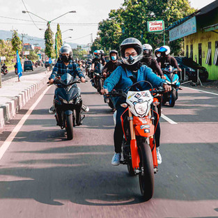 Sunmorden Prigen Diikuti 400 Peserta Tetap Kedepankan Prokes dan Safety Riding