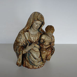 Restauration Vierge à l'enfant