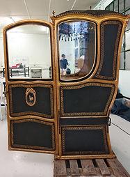 restauration chaise à porteur