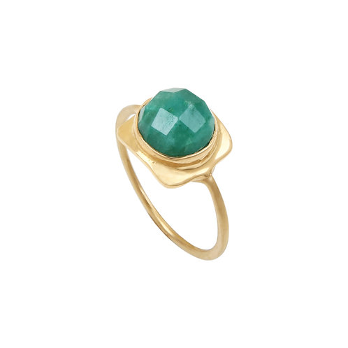 Bague Nour Emeraude - Louise Hendricks