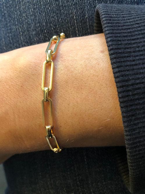 Bracelet Java or - Sélection Joée