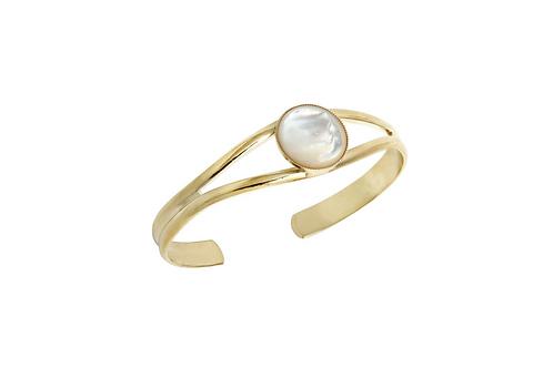 Bracelet Ava Nacre blanche - 4Crosses