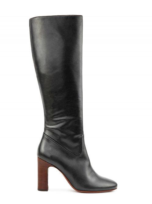 Bottines n°91 cuir noir - Rivecour