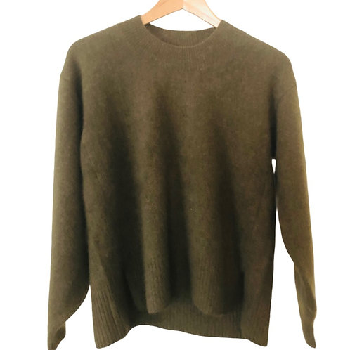 Pull col rond OLIVE - CT plage