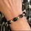 Thumbnail: Bracelet spinelle noire brute - Au fil de LO