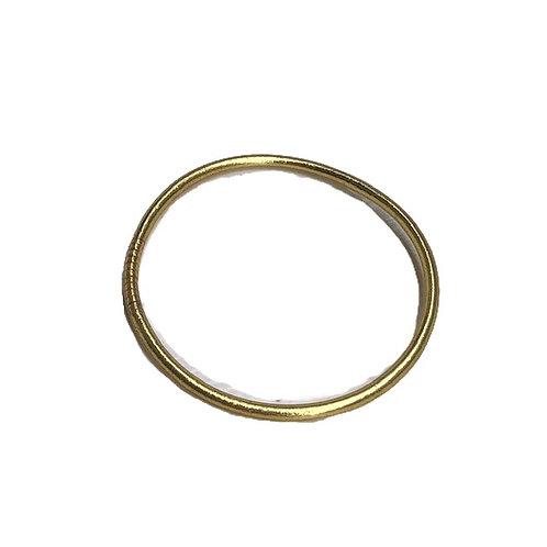 Bracelet fin bouddhiste doré clair - nouveau format !