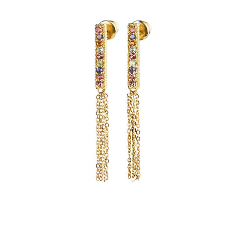 Boucles d'oreilles or - Marie Laure Chamorel