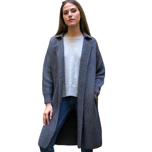 Manteau veste grise ref 19 332 - C.T. Plage
