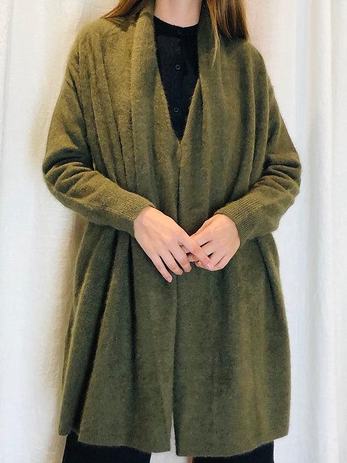 Manteau veste Olive raccoon - C.T. Plage