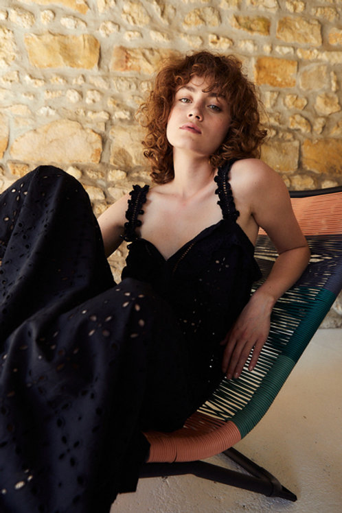 Robe Miney noire - Laurence Bras