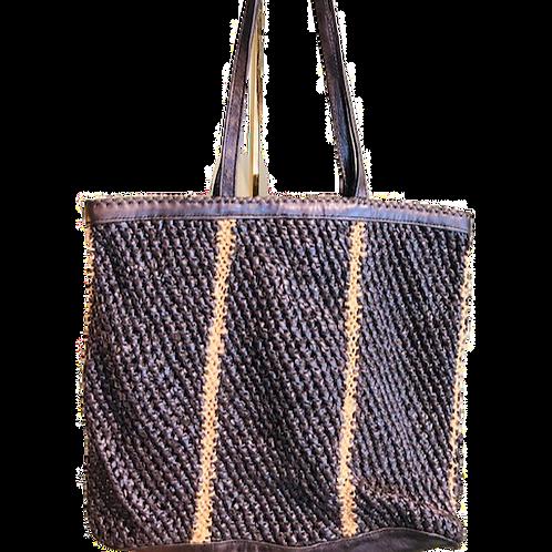 Cabas cuir & corde - En Shalla