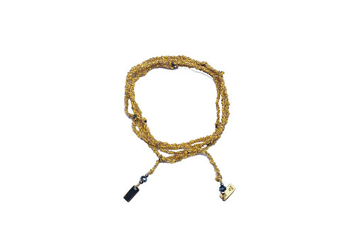 Bracelet ou sautoir gold jaune - Marie Laure Chamorel