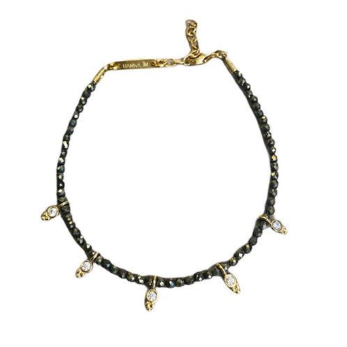 Bracelet Joy pyrite - Hanka In