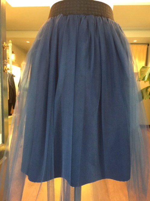Jupe Carrie bleu nuit - Jupes de Prune