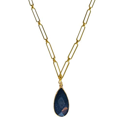 Collier Jaï lapis lazuli - Sélection Joée
