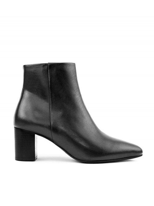 Bottines n°107 cuir noir - Rivecour